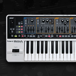 Roland GAIA SH-01 37-Key Synthesizer