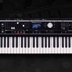 Roland VR-09 V-Combo Live Performance Keyboard, 61-Key