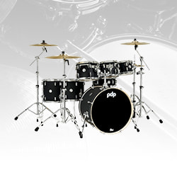 Pacific Drums Concept Maple Drum Shell Kit, 7-Piece