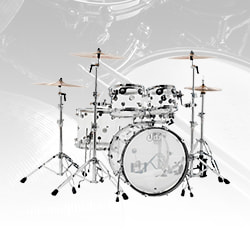 Drum Workshop Design Series Acrylic Shell Kit Drum Set