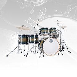 Mapex AR628SFB Armory Studioease Fast Drum Shell Kit, 6-Piece