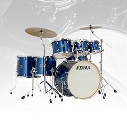 Tama CK72S Superstar Classic Shell Kit Drum Set, 7-Piece