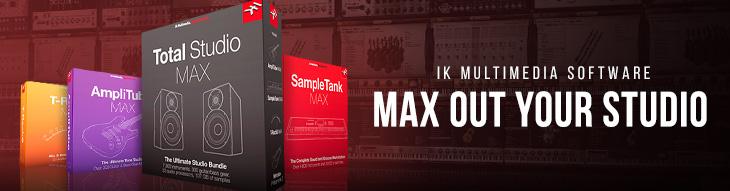 T-RackS MAX, Total Studio MAX, SampleTank MAX