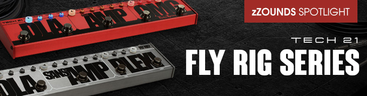 Tech 21 Fly Rig 5, Richie Kotzen Signature RK5, and Bass Fly Rig