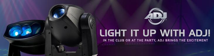 ADJ DJ and Stage Lighting