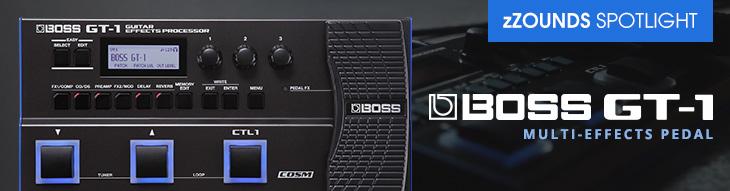 Boss GT-1 multi-effects processor