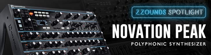 Novation Peak Polyphonic Synthesizer