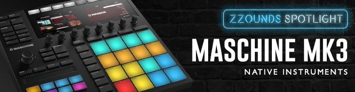 Maschine MK3 from Native Instruments is a major leap forward in groovebox design.