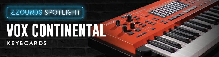 Vox Continental Keyboards
