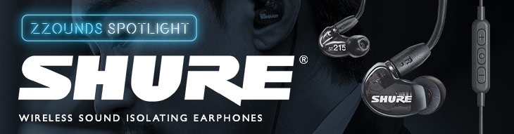 Shure SE112 and SE215 Wireless Sound Isolating Earphones