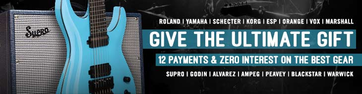 Pop-up Payment Plans: Yamaha, Roland, ESP, Schecter, Korg, and more!