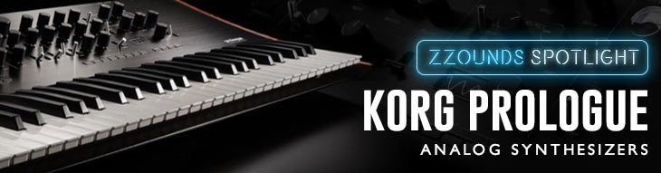 Korg Prologue 8 and Prologue 16 Analog Synthesizers