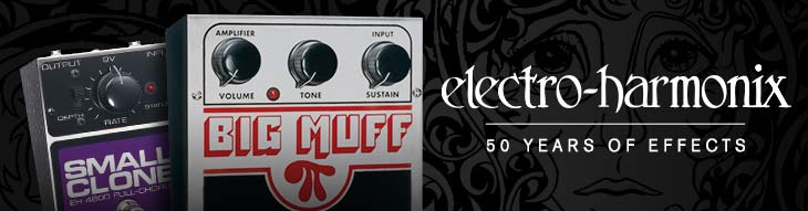 With fuzz, reverb, delay, modulation and more, there's an Electro-Harmonix pedal for every player!