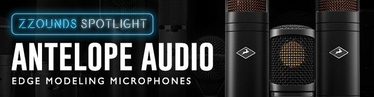 Antelope Audio Edge Family Modeling Microphones