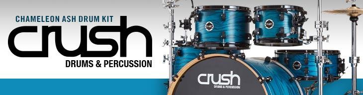 Crush Chameleon Ash Drum Kit