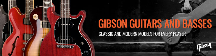 Gibson Guitars and Basses
