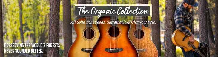 All solid tonewoods, sustainable and clear-cut-free.