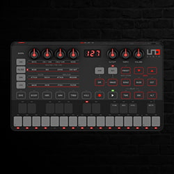 IK Multimedia UNO Synth Portable Analog Monophonic Synthesizer