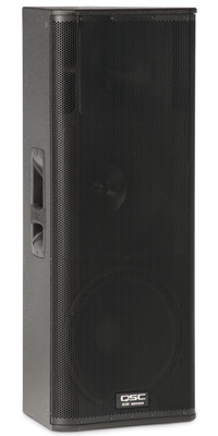 Get powerful sound in a compact enclosure with the professional-quality QSC KW153 3-way speaker.