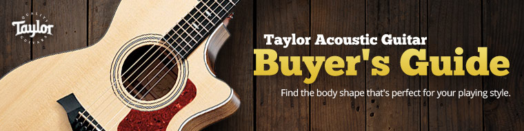 Taylor Acoustic Guitar Buyer's Guide