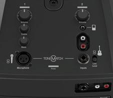 Onboard mixer panel