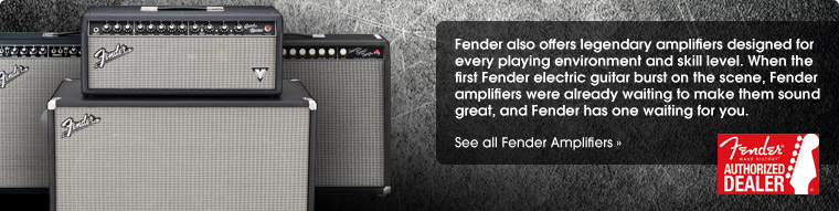 Shop All Fender Amps