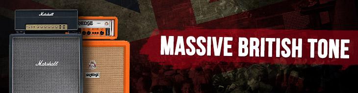 Massive British Tone: Marshall and Orange Amps